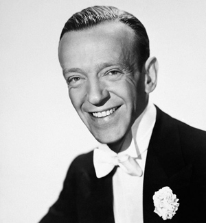 Fred Astaire Portrait Photograph