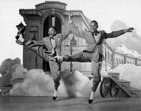 The Nicholas Brothers Tap Dancing