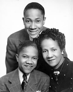 Nicholas Brothers With Their Mother